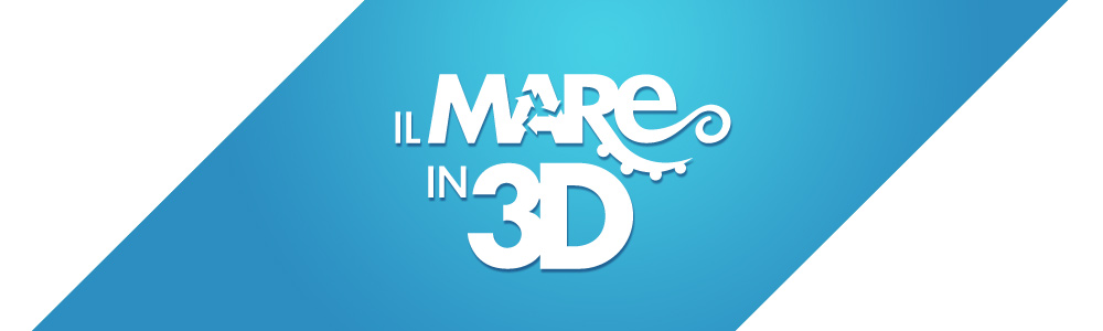 Il mare in 3d logo & responsive website
