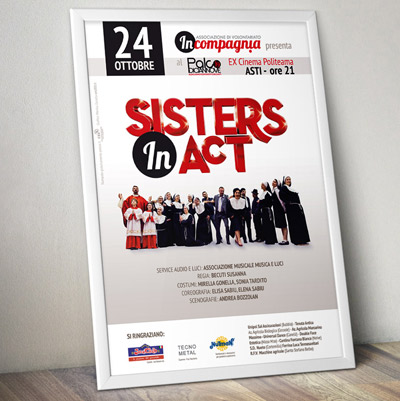 Sisters in Act <br> locandina spettacolo