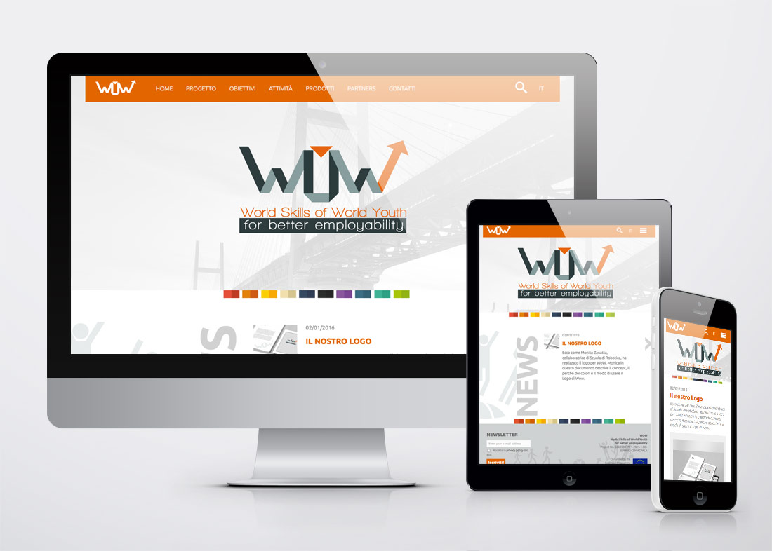 WOW sito web responsive